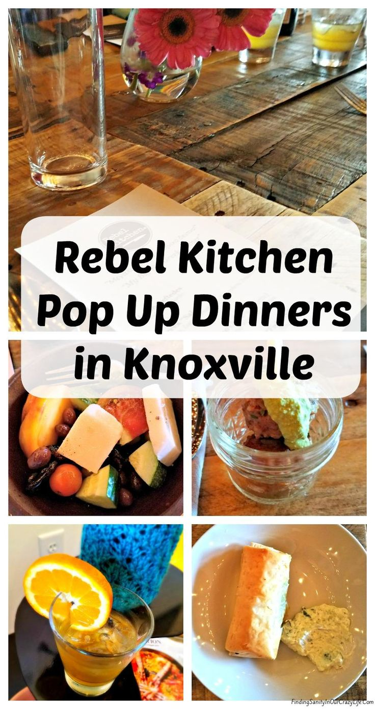 Discover an abundance of flavors and a plethora of food at Rebel Kitchen's Pop Up Dinners in Knoxville. #RebelKitchen #PopupDinner