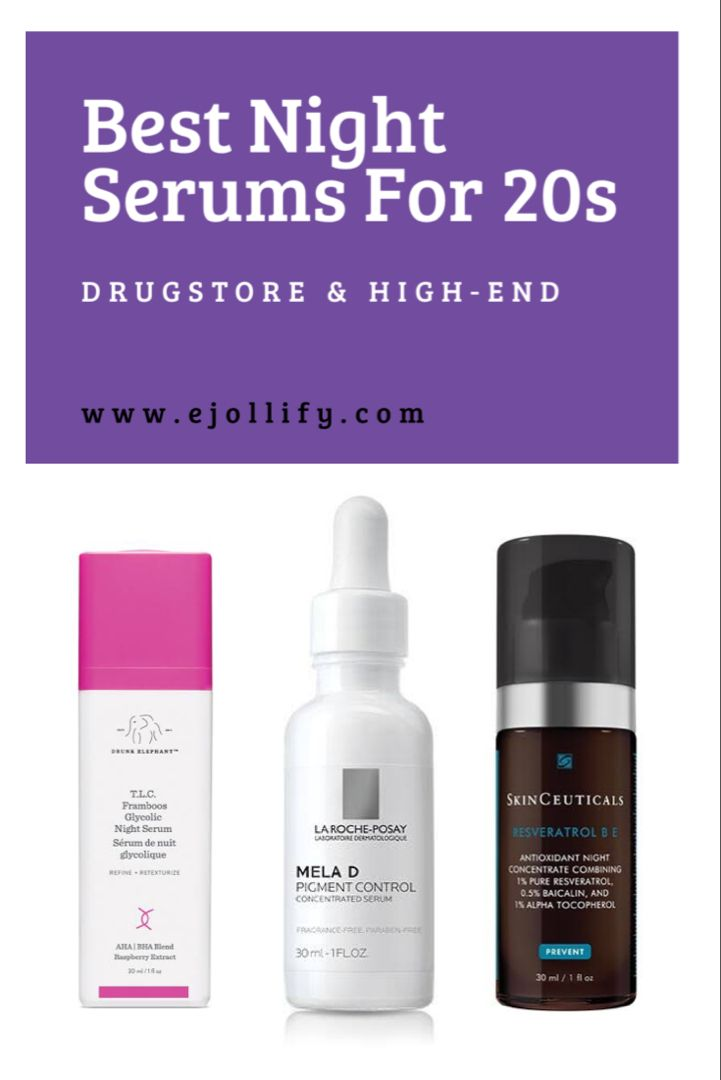 10 Best Night Serums For Dry Combination Oily Skin 2020 In 2020 Best Night Serum Night Serum Night Skin Care Routine