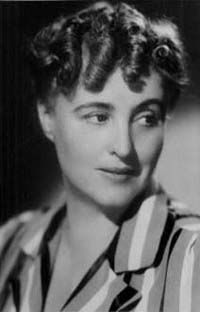 Margery Allingham - author of the Albert Campion detective series & other crime novels.