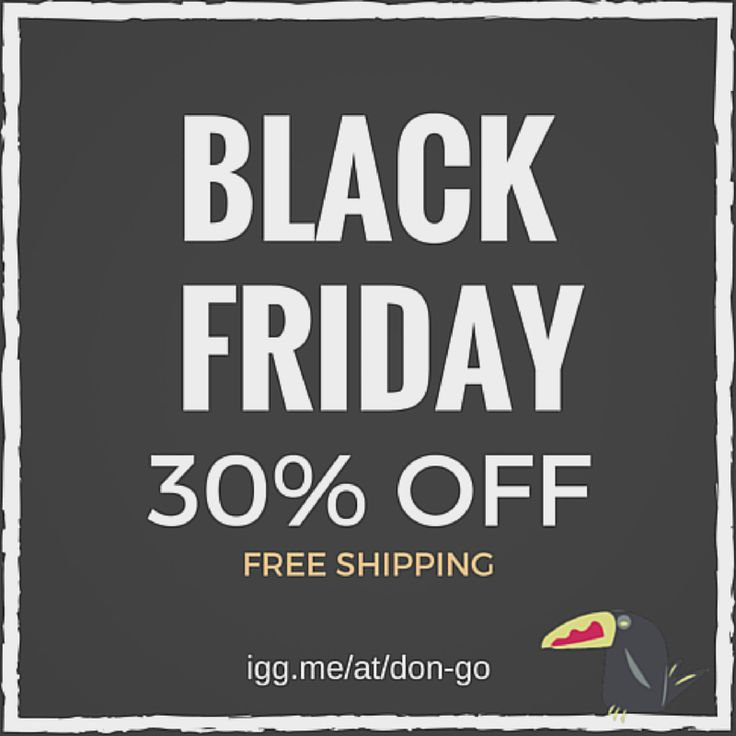Don't miss our black friday sales! Just for Indiegogo backers 30% OFF on our product. Make the difference. DONATE NOW.