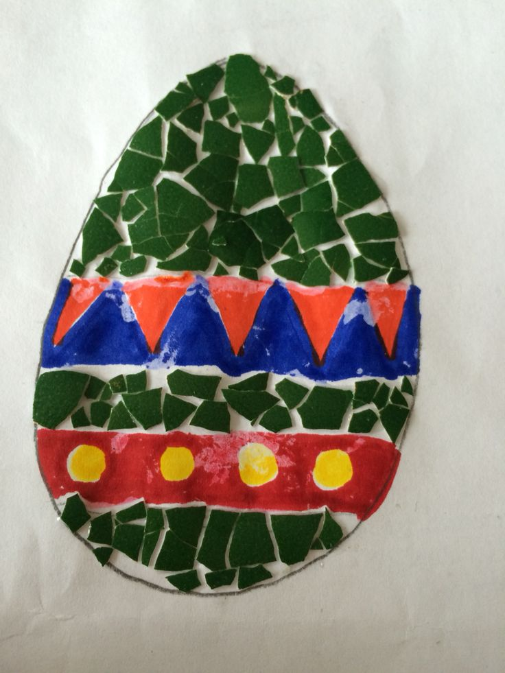Osterei aus Eierschalen