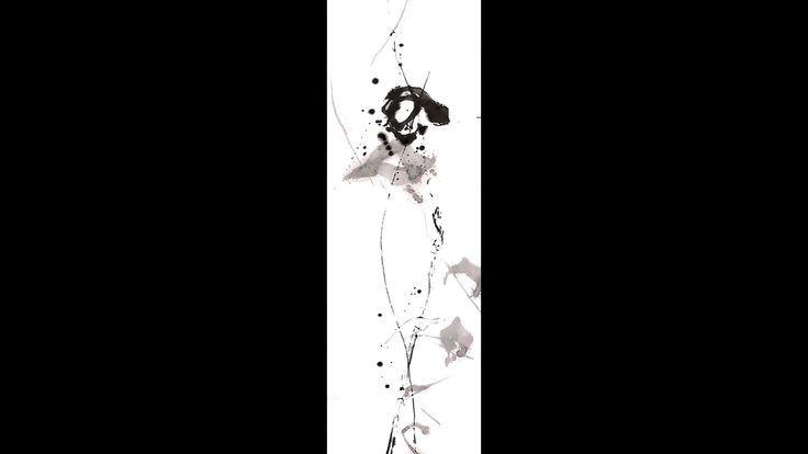 As I feel like #japanese calligraphy#modern art