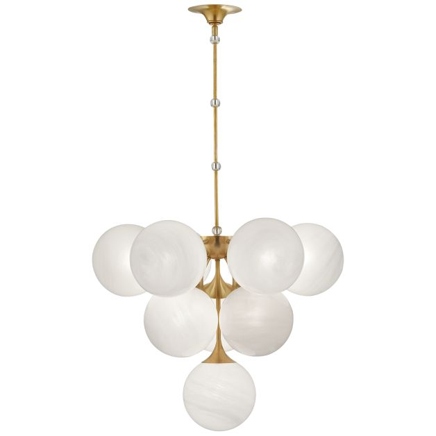 collect idea spectacular lighting design skli. shop for visual comfort arn aerin cristol tiered pendant in handrubbed antique brass at foundry lighting collect idea spectacular design skli