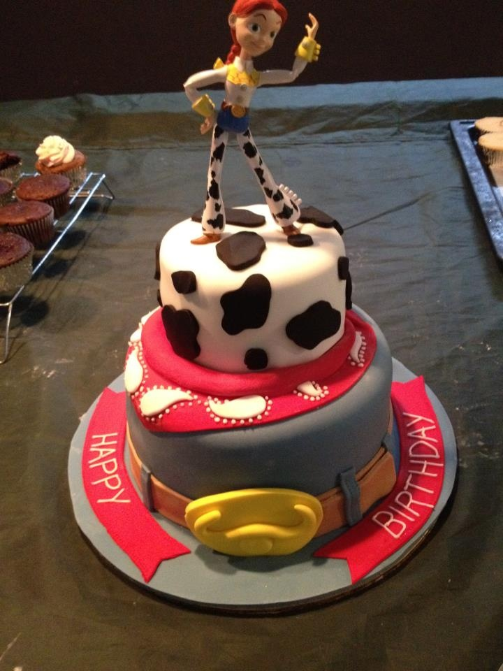 Toy Story Jessie 4th Birthday Cake Ideas Pinterest