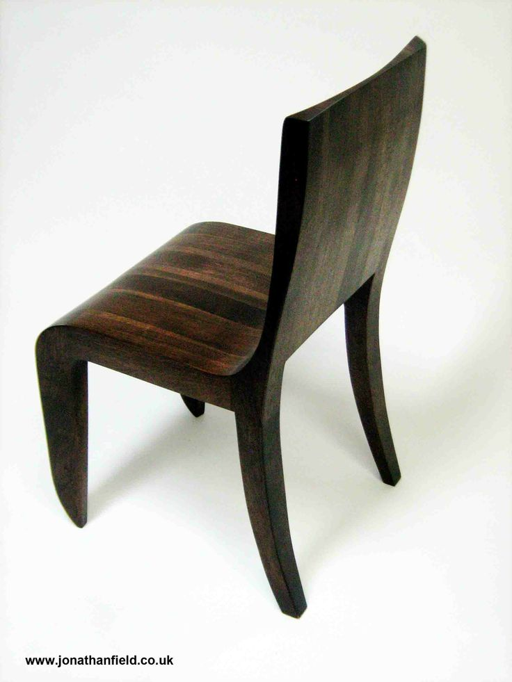 Chair in American black walnut with oil finish. One of an edition of five. Designed to go with the Opener Desk and Opener Printer Unit 49cm D x 44cm W x 85cm H Jonathan's work is shown by Connaught Brown www.jonathanfield.co.uk