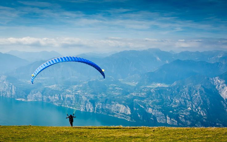Paragliding- Lake Garda, Italy #Italy