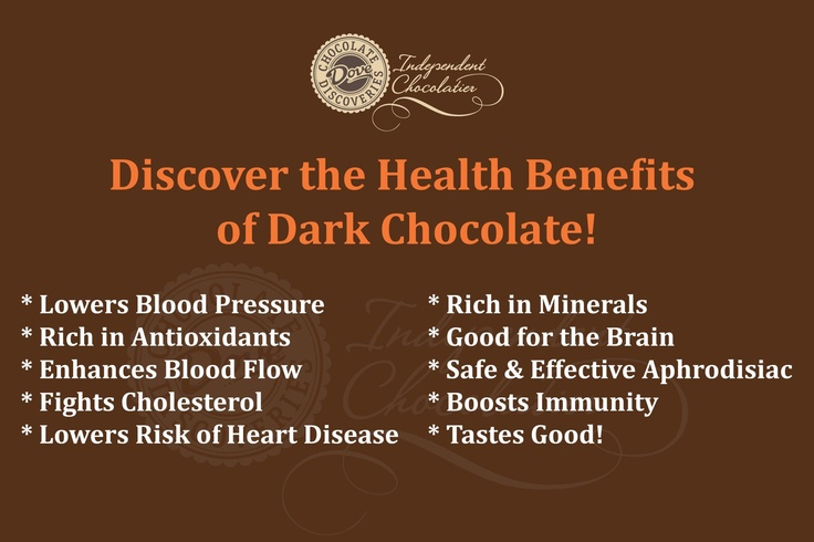 how to eat dark chocolate for health