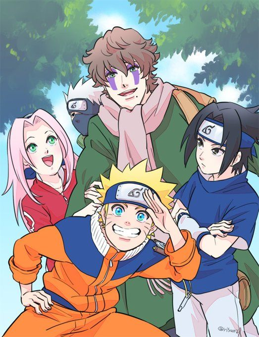 Only took almost like 700 of Naruto episodes  to finally show it!!