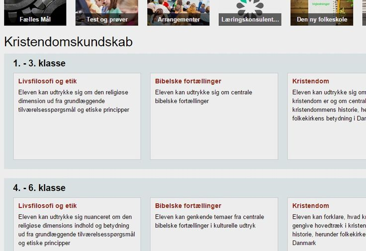 Kristendomskundskab | EMU Danmarks læringsportal