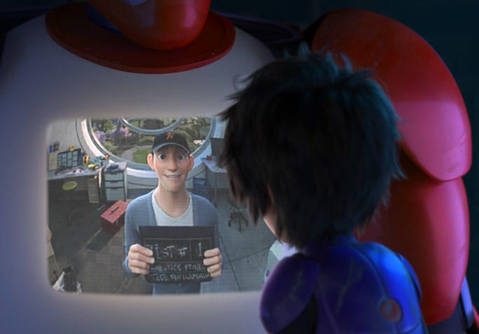 """Big Hero 6 directors Don Hall and Chris Williams discuss the crucial """"Tadashi Is Here"""" scene. THIS IS A MUST-READ. WOW. *CONTAINS MAJOR SPOILERS*"""