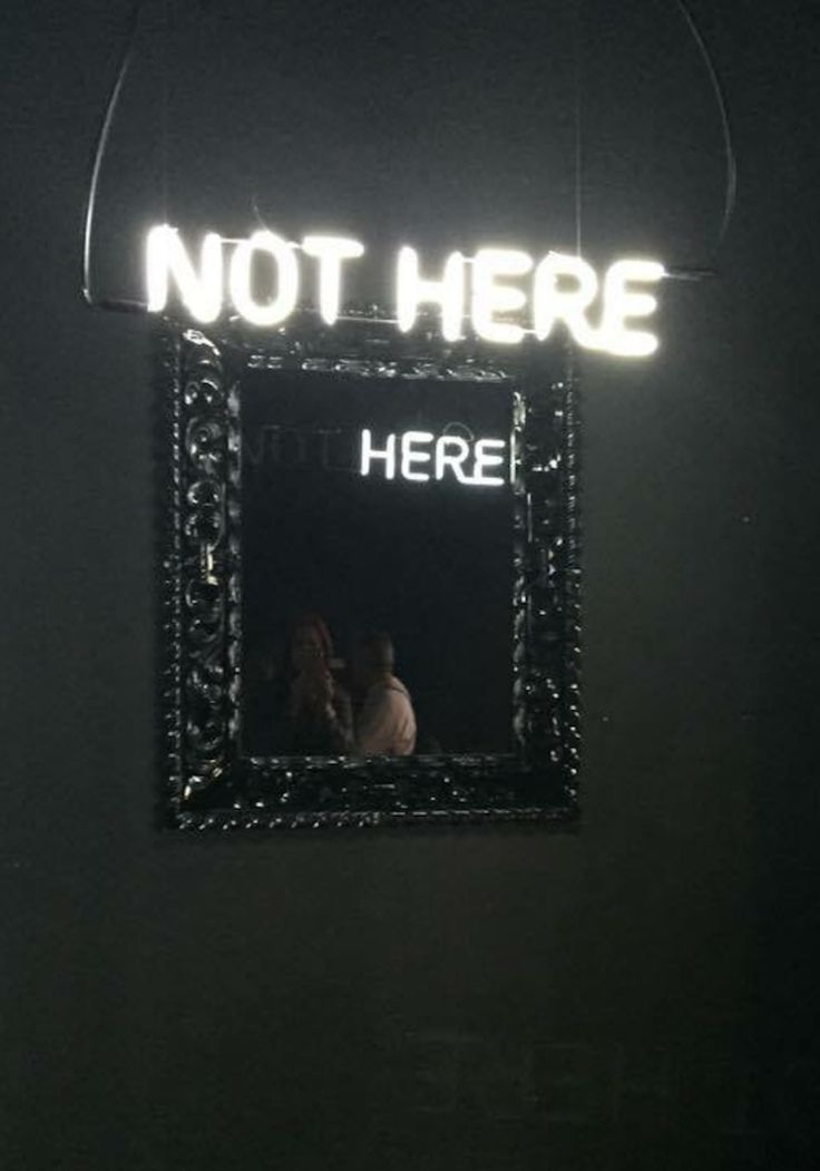 """""""Here Not There"""" – Light Sculptures of Truthful Mirror Reflections With Hidden Messages by Camilo Matiz"""