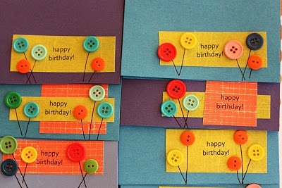 Birthday card/place cards