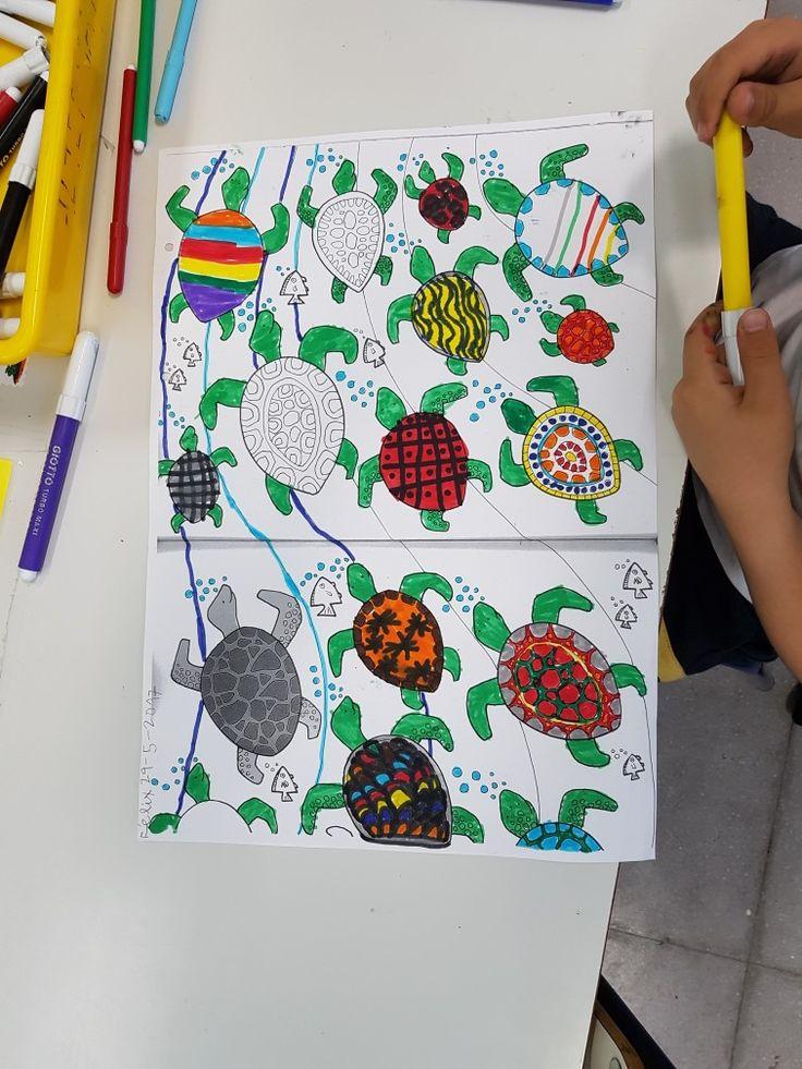 Creamos caparazones de tortuga.