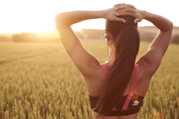 Power Up Crop #sunrise #fitness #everysecondcounts