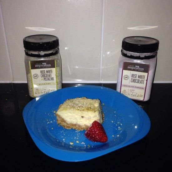 Your Inspiration At Home Wicked White Chocolate and Sorbet #Cheesecake www.yourinspirationathome.com.au