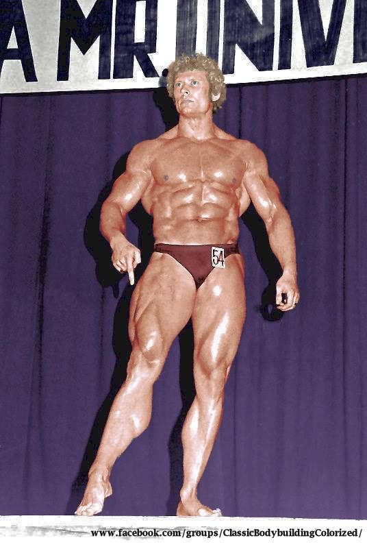 Paul Grant of Wales. | Golden Era Bodybuilding ...