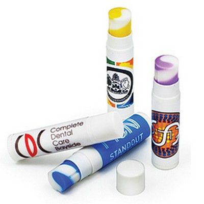 Swirl Slimline Lip Balm Min 5000 - Corporate Gifts - Personal Gifts - PRTH-LB0031SW-i - Best Value Promotional items including Promotional Merchandise, Printed T shirts, Promotional Mugs, Promotional Clothing and Corporate Gifts from PROMOSXCHAGE - Melbourne, Sydney, Brisbane - Call 1800 PROMOS (776 667)