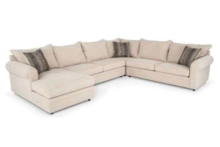 Basement sofa 999 venus ii 4 piece right arm facing - Bob s discount furniture living room sets ...