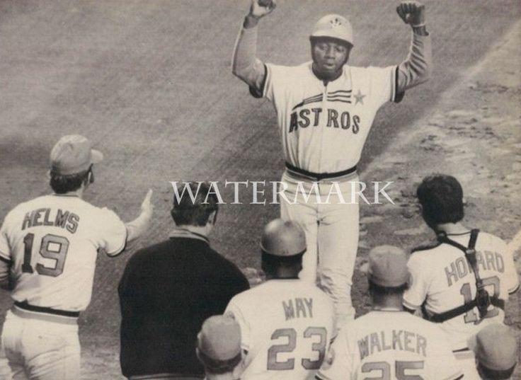 Jim Jimmy Wynn Walk Off Home Run 8x10 Photo Houston Astros MLB Baseball Vintage
