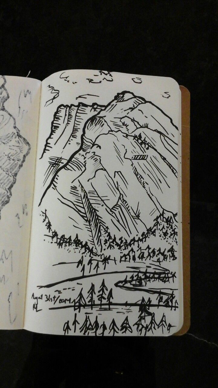 Best Mountain Sketch Ideas On Pinterest Mountain Drawing - Sketch drawing us map