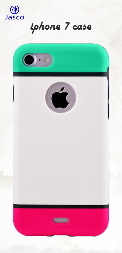 iPhone 7 Case  Dual Layer Series Shock Absorptive Extreme Impact Ultra Slim Lightweight PC+TPU Colorful-back 4.7 inch Protective Cell Phone Case for iPhone 7 - Green/White/Rose Red  https://www.amazon.com/Products-Absorptive-Lightweight-Colorful-back-Protective/dp/B01NBVK51Z/ref=sr_1_6?ie=UTF8&qid=1494658356&sr=8-6&keywords=iphone+7+case