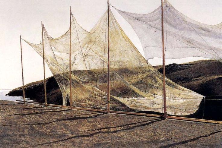 Pentecost - Andrew Wyeth Pentecost why?  What does that word define?  What do the breezes we feel against our skin reveal to us about our lives, our very existence. It is real and it is exhilarating...the wind.  K.W.