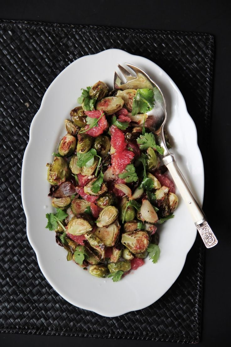 roasted brussels sprouts with grapefruit, cinnamon & star anise | Food ...
