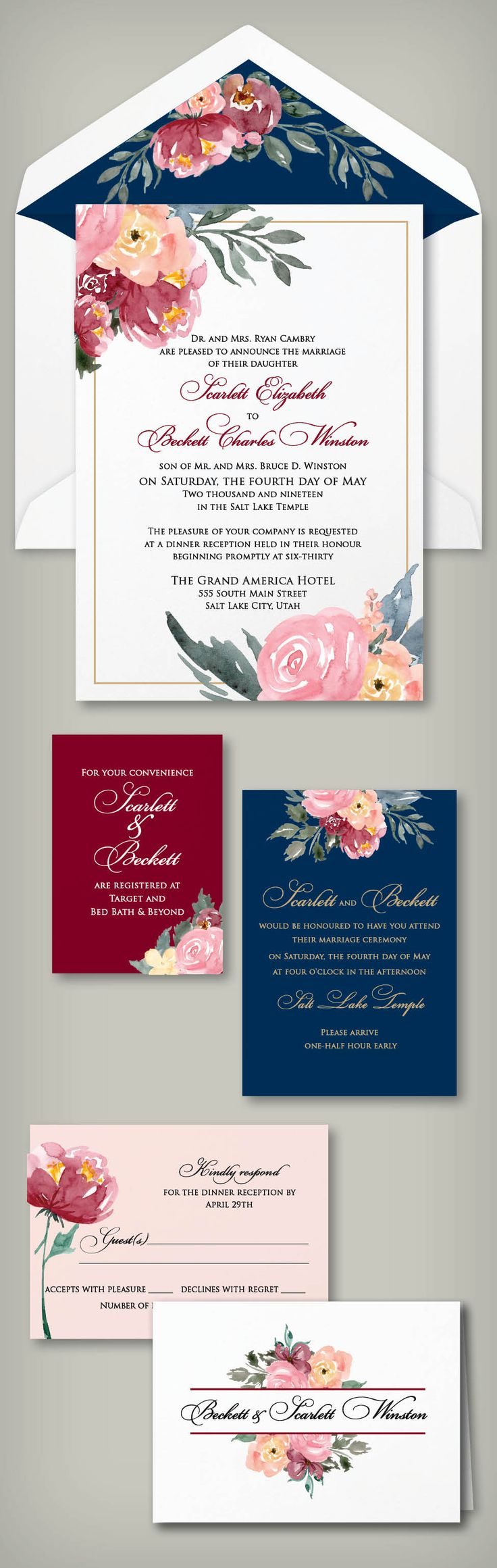 12 Best Wedding Invitation Ideas Images On Pinterest Invitation