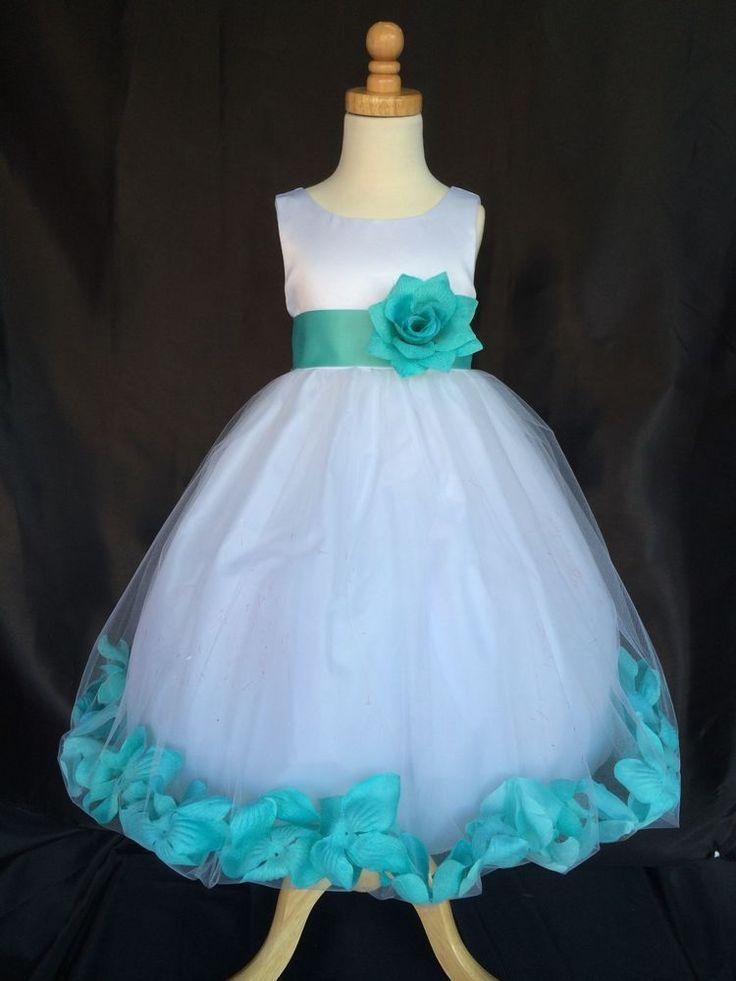 Blue Toddler Flower Girl Dresses   www.pixshark.com ...