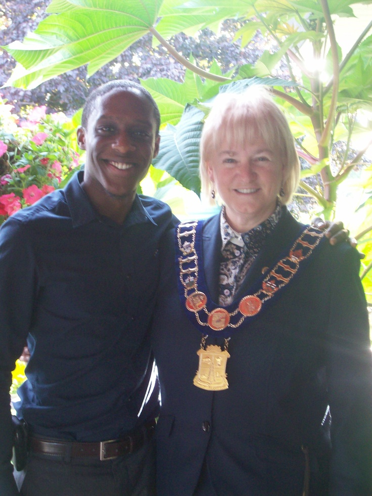 Mayor Susan Fennell is drinking T By Daniel too! Choco Mate to be exact ;)