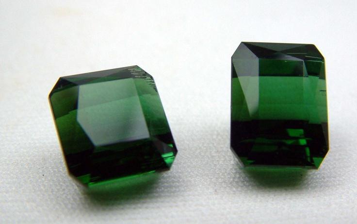 Tourmaline . 2 pieces = 13 carats