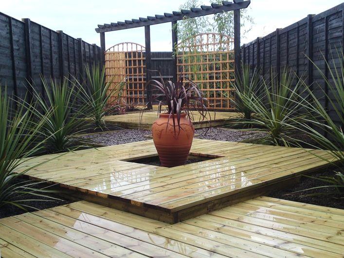 small garden decking ideas - Bing Images