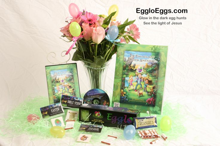 Egglo Eggs is a fun, interactive way to teach children about the light of Jesus through a glow in the dark Easter activity. The Egglo Adventure Kit creates a memorable childhood experience with a powerful lesson. EggloEggs.com