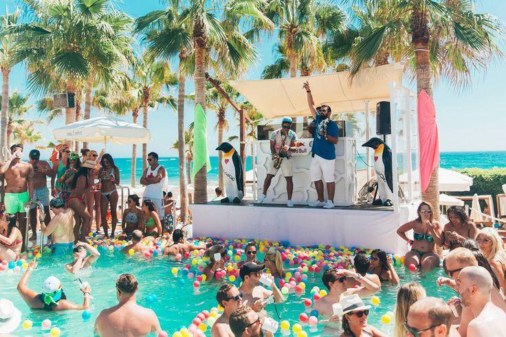 Party at Nikki Beach Marbella
