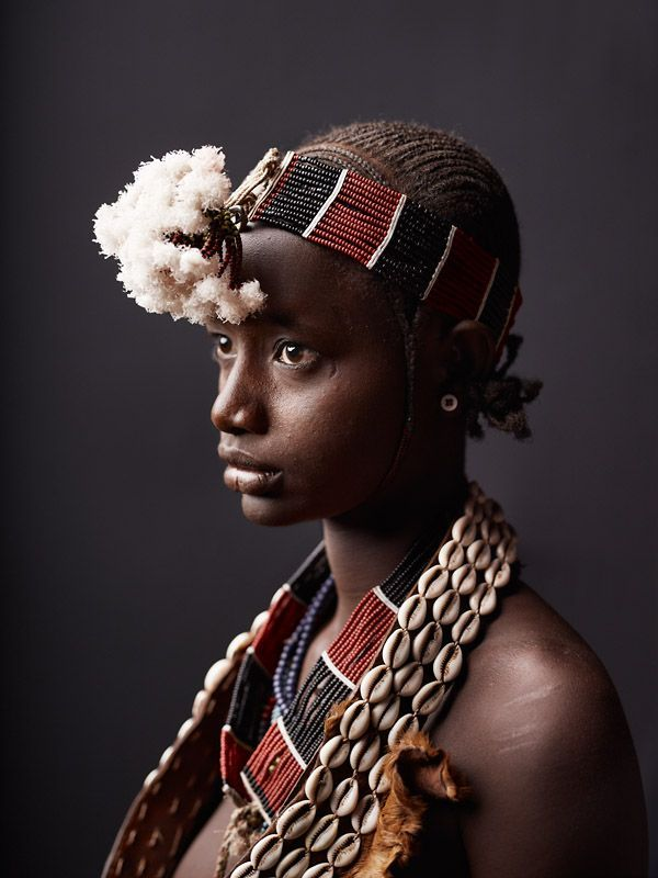 Algo Hamer tribe, Lower Omo Valley, Ethiopia. Photography of interesting and beautiful people of the world. Photo by Joey Lawrence