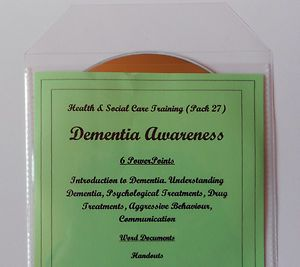 Dementia Awareness - suitable for delivering Guided Learning on any health and social care course, QCF, Skills for Dementia Level 2, Award in Dementia Care etc. Also suitable for care settings awareness training for care assistants and health care assistants etc.