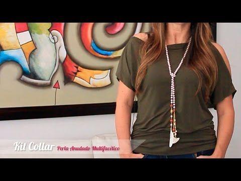 Como hacer un collar multifacetico con varias posiciones - enrHedando