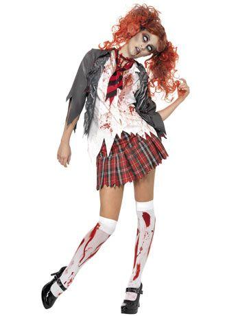 Zombie School Girl @Kelly Simeone