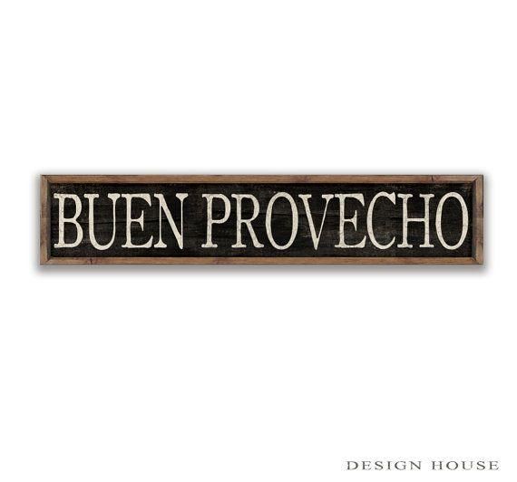 Kitchen Signs In Spanish