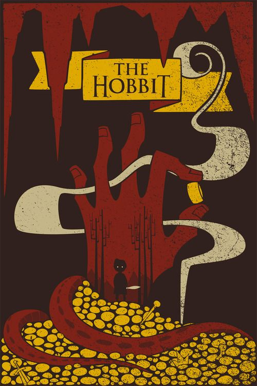The Hobbit: Movie Posters, Books Covers, Geek Art, Jacobs Mcalist, The Hobbit, Art Prints, Art Design, Geekart, Thehobbit