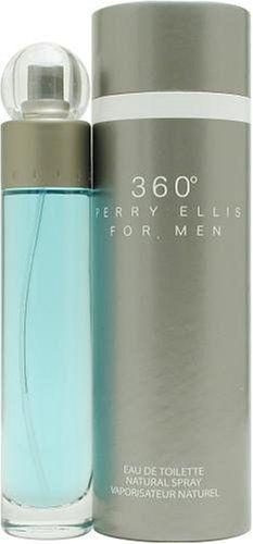 PERRY ELLIS 360 By PERRY ELLIS For Men EAU DE TOILETTE Spray 3.4 Oz (100ml) @ www.retailperfumes.com