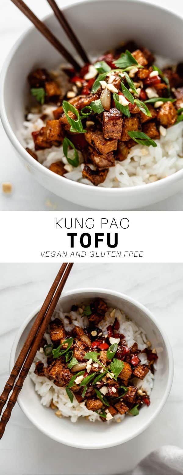 Begrüßen Sie Ihr neues Lieblings-Tofu-Rezept! Kung Pao Tofu steckt voller Aromen … – Recipes