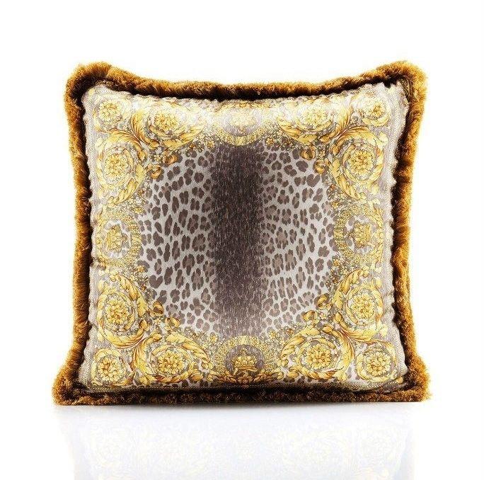 Versace Home Leopard Pillow