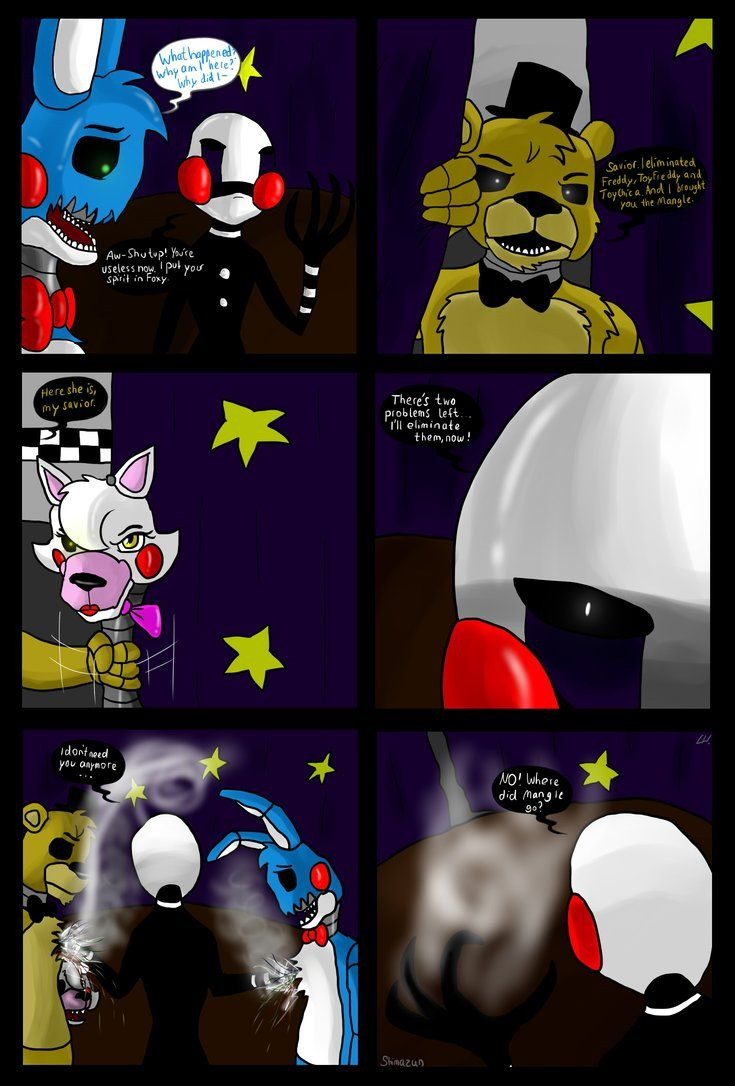 Spookys house of jumpscare e621 - Fnaf Comic Good And Bad Ones Part 17 By Shimazun