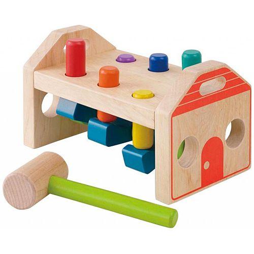 ハンマートイ 1歳 2歳 3歳 誕生日プレゼント 赤ちゃん 出産祝い。ハンマートイ エドインター トンぴょこハンマー 木のおもちゃ 赤ちゃん 木製 出産祝い ベビー 誕生日プレゼント 男の子 男 女の子 女 1歳 2歳 3歳|知育玩具 一歳 二歳 大工 子供 大工さん ごっこ遊び 幼児 おもちゃ 誕生日 ペグ ed・inter エド・インター こども ベビー玩具