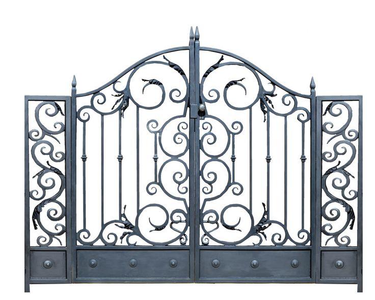 25 Best Ideas About Iron Gates Driveway On Pinterest