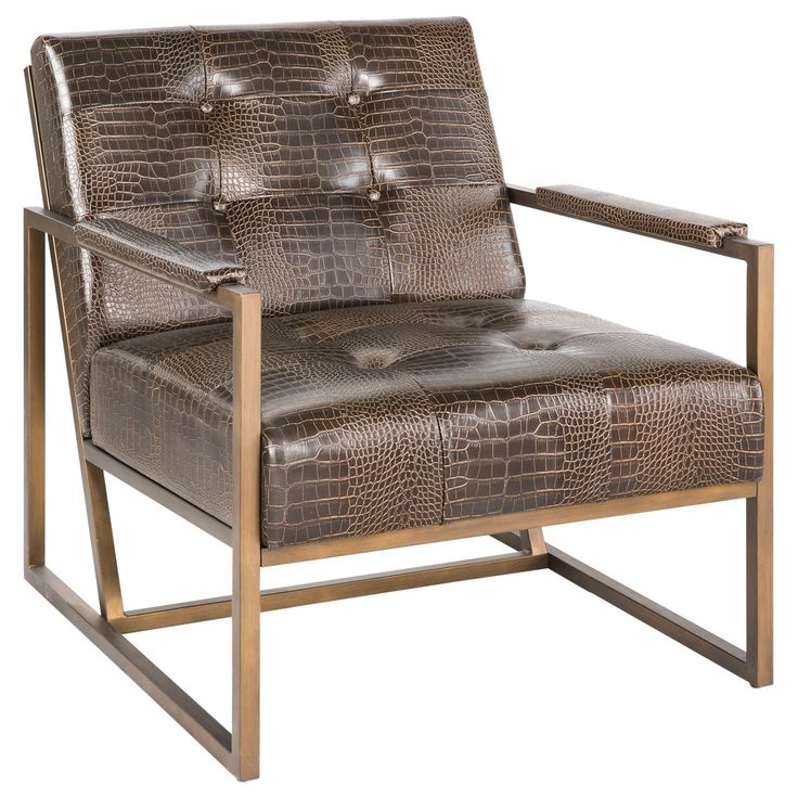 Luxury Is Back With Our Ink Ivy Waldorf Lounge Chair