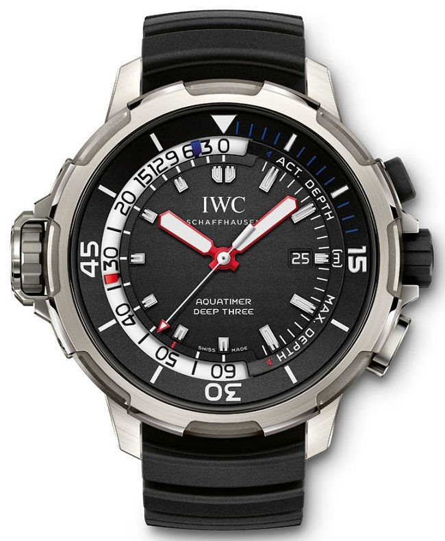 IWC Aquatimer Deep Three – Механические часы для дайвинга | LuxuriousWatches.ru