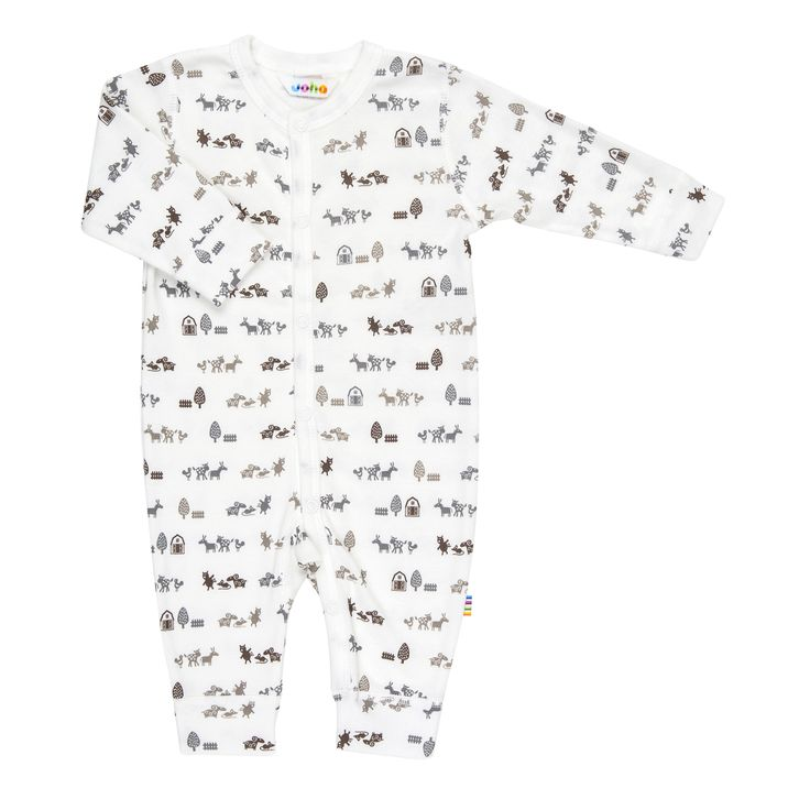 Nature life jumpsuit with adorable animal print 100% organic cotton excellent value at $49.95 http://www.danskkids.com.au/collections/spring-summer-2015/products/joha-nature-life-jumpsuit-print