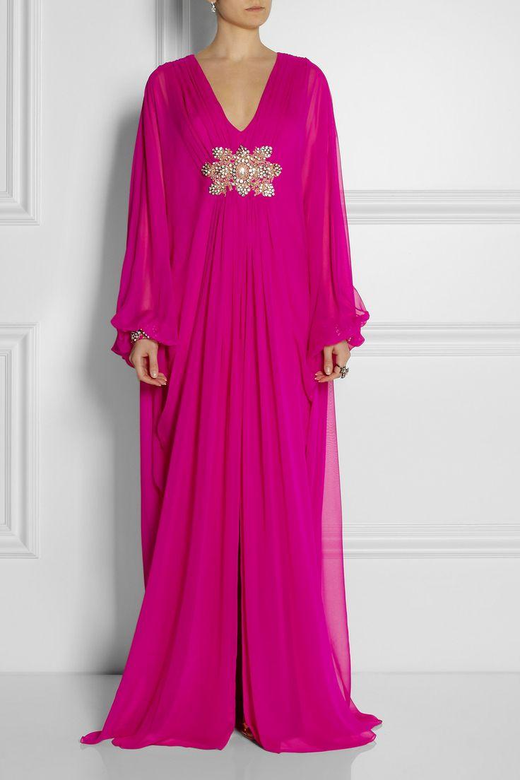 Marchesa   Embellished silk-chiffon gown   NET-A-PORTER.COM